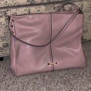 Anne Kline Blush Shoulder Bag